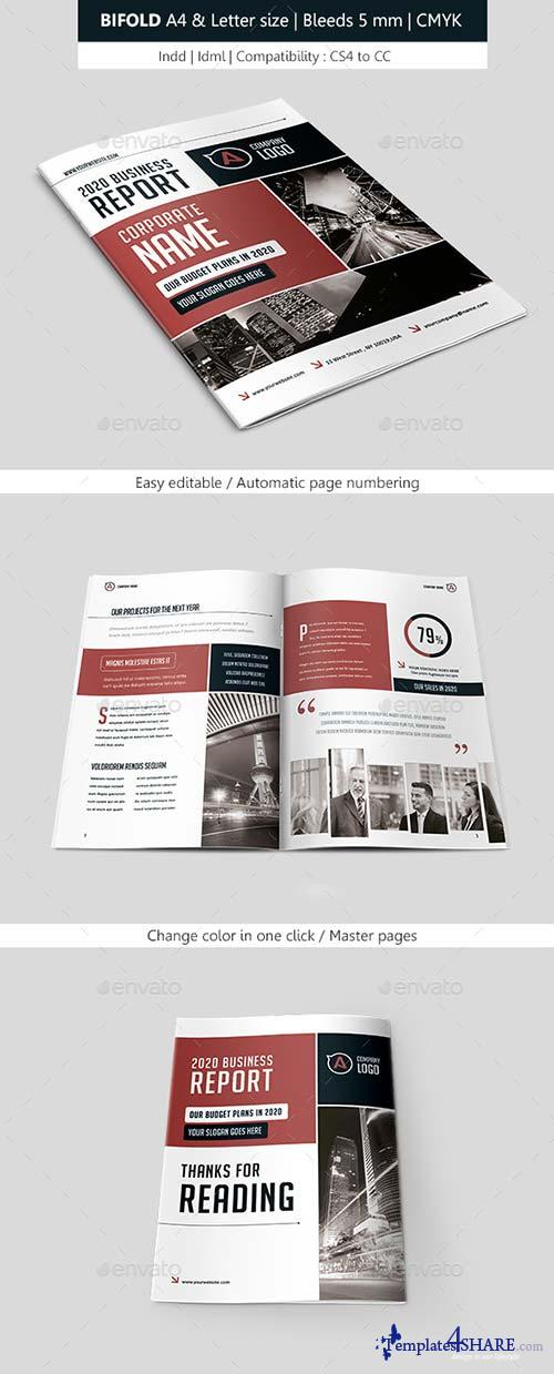 GraphicRiver Bifold Business Brochure Template