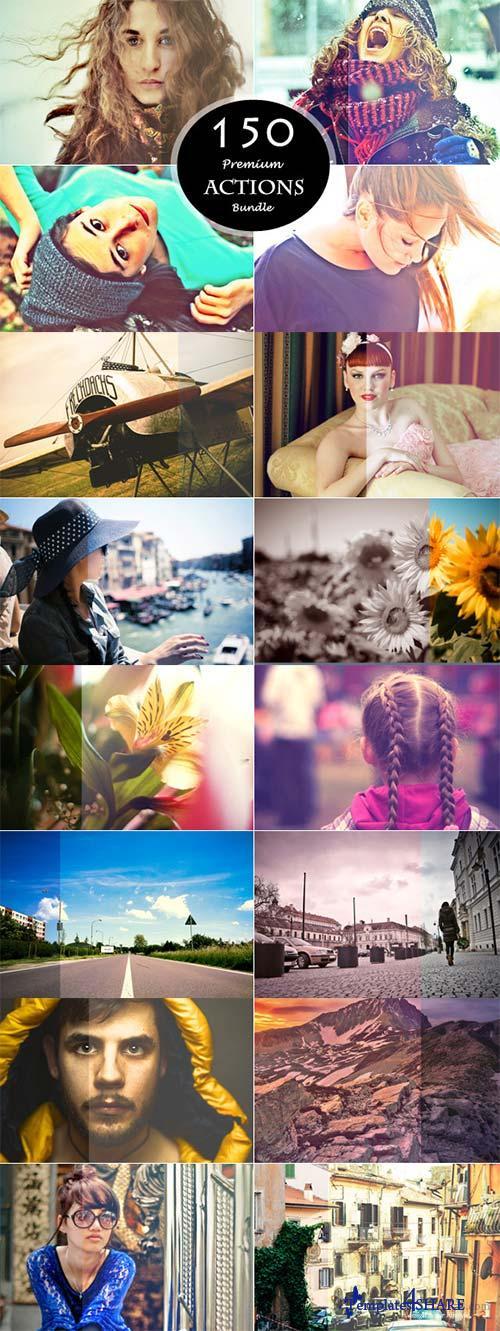 CreativeMarket 150 Actions Bundle