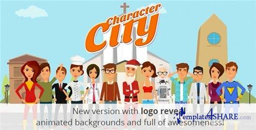Character City V2 : Explainer/Animation Video ToolKit - After Effects Project (Videohive)