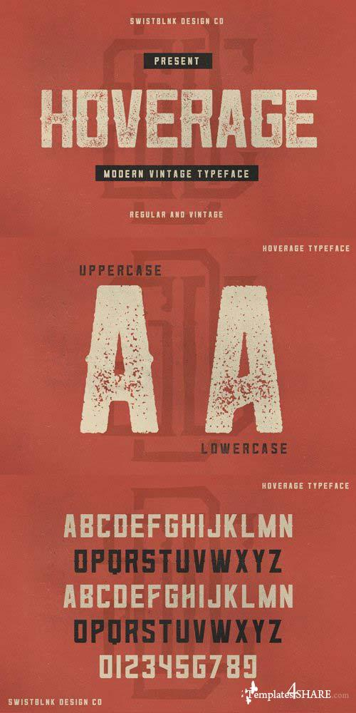 Hoverage Font Family