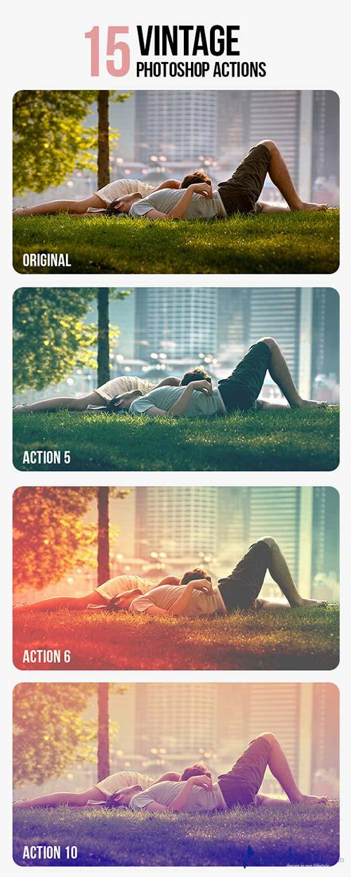 GraphicRiver Vintage Photo Actions