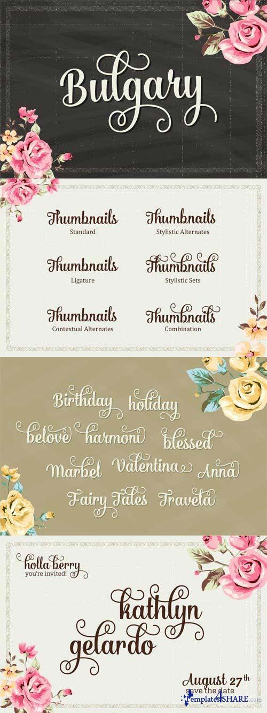 Bulgary Font Family