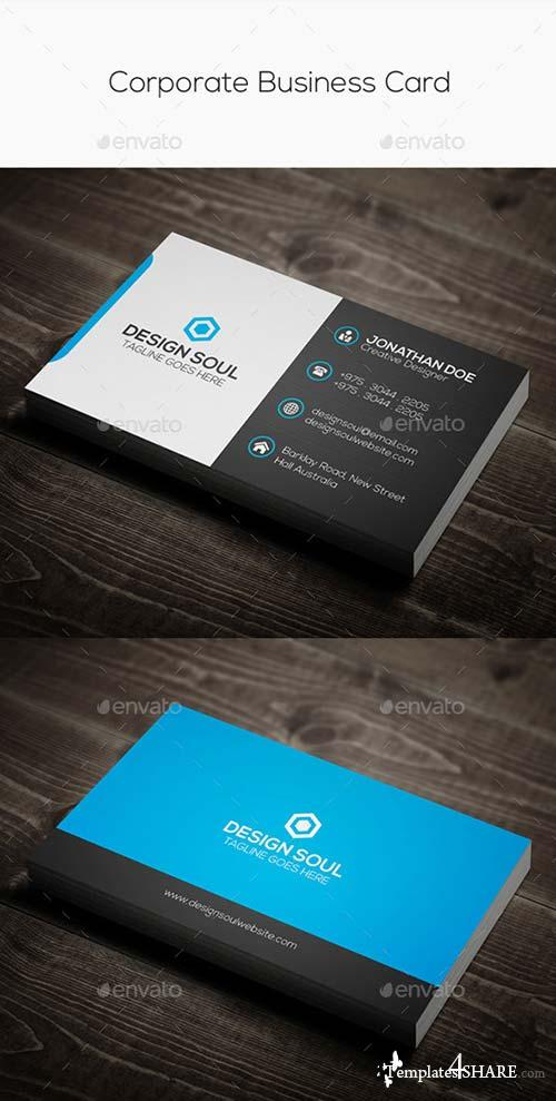 GraphicRiver Corporate Business Card 9104791
