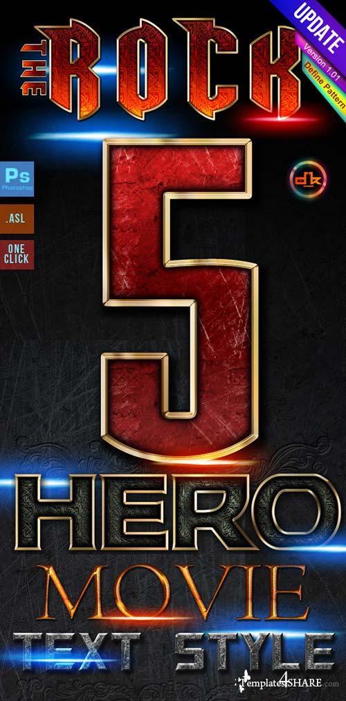 GraphicRiver Hero Movie Style