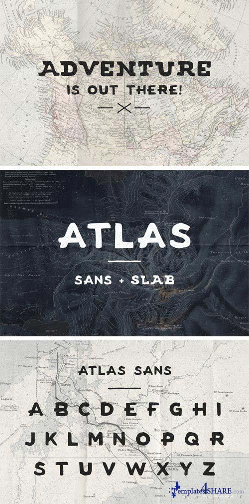Atlas Font Family