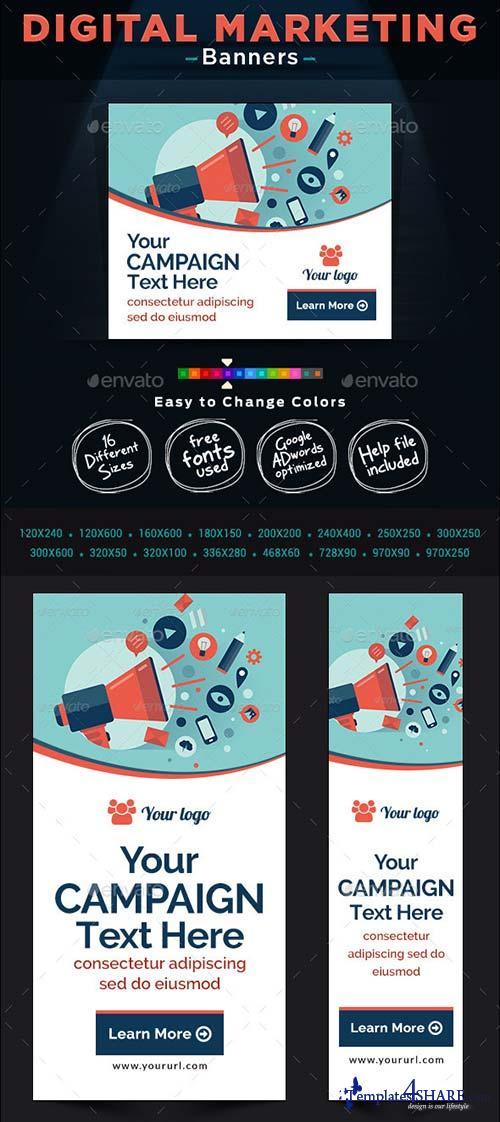 GraphicRiver Multi Purpose Banner Design Set