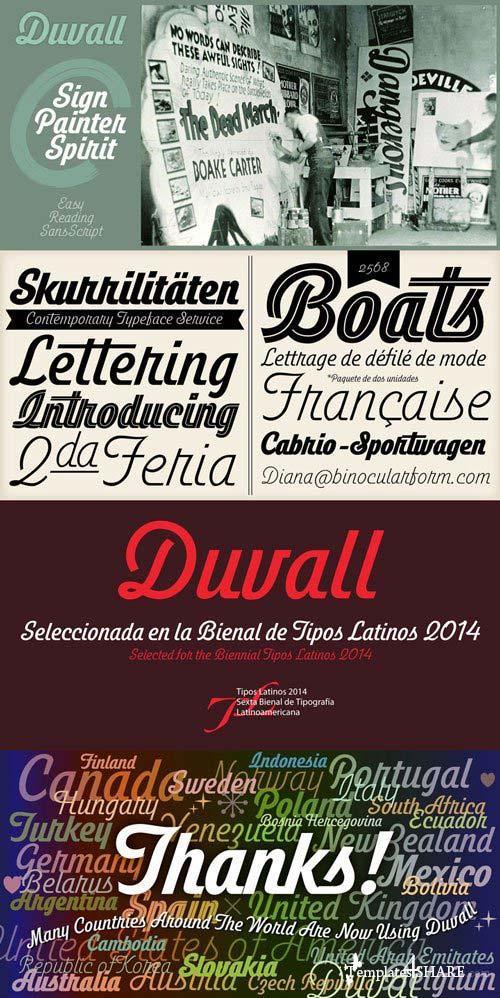 Duvall Font Family