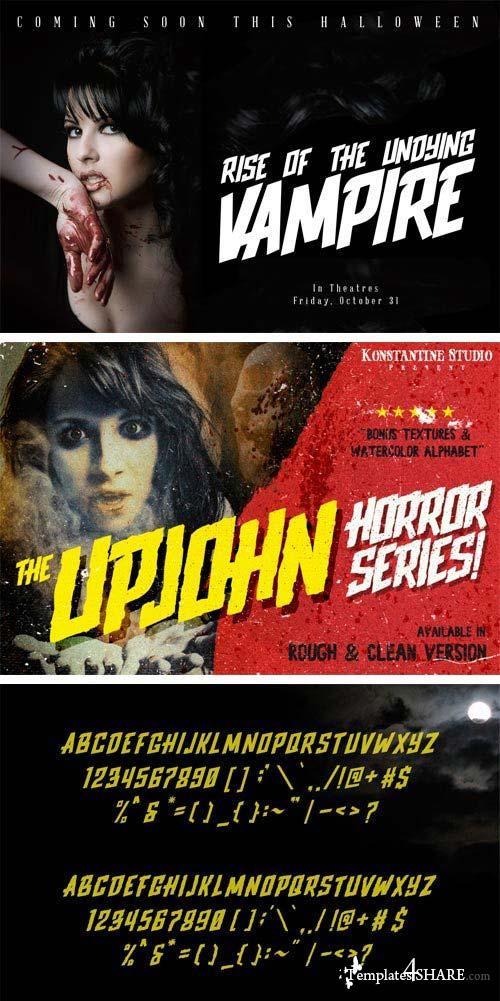Upjohn Font Family