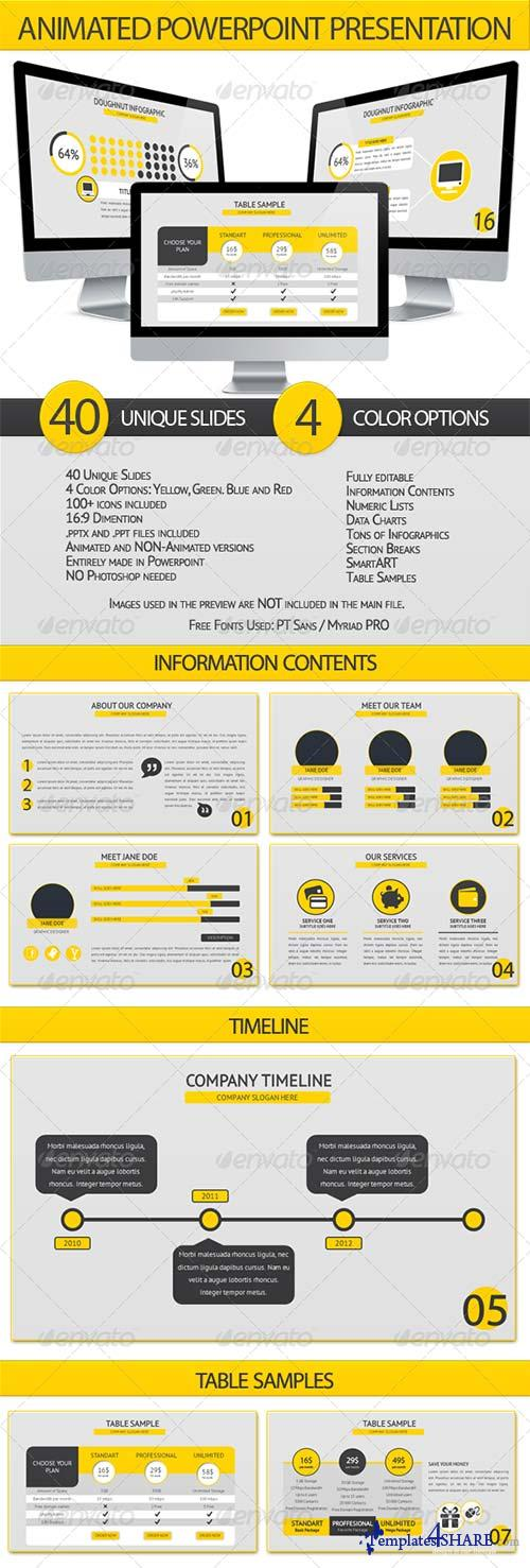 GraphicRiver Animated Powerpoint Presentation