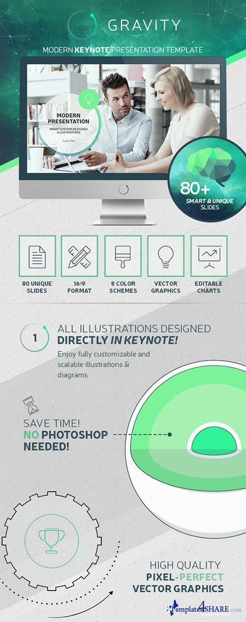 GraphicRiver Gravity Keynote - Modern Presentation Template