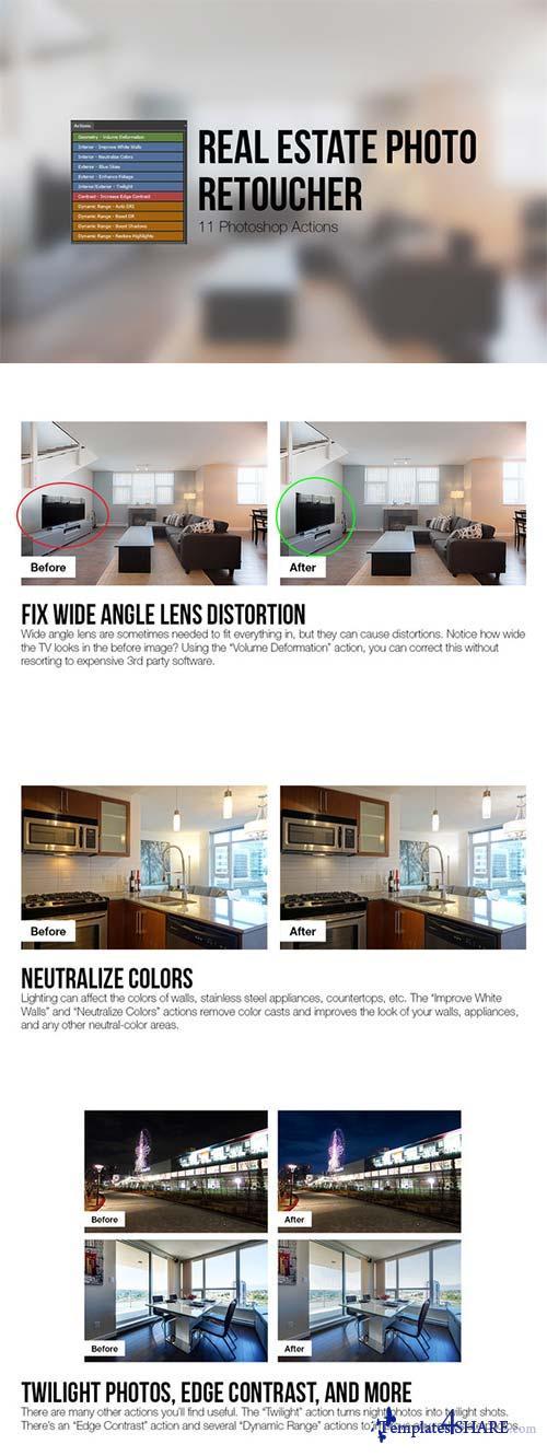 CreativeMarket Real Estate Photo Retoucher