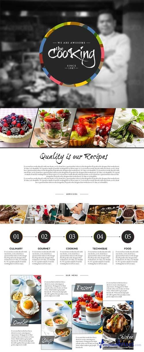 CreativeMarket Cooking Master PowerPoint