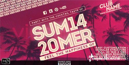 Summer Music Event - After Effects Project (Videohive)