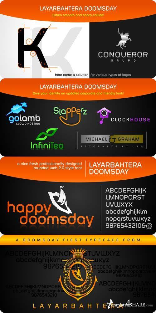 LayarBahtera Doomsday Font Family