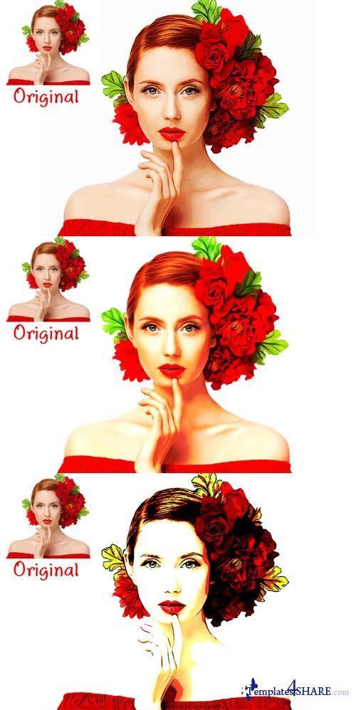 CreativeMarket Photoshop Paint Actions