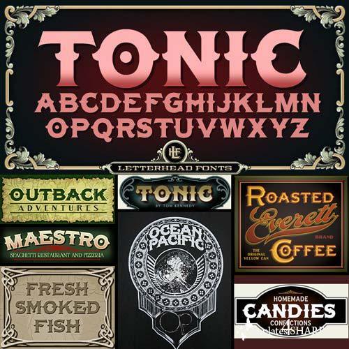 LHF Tonic Font Family