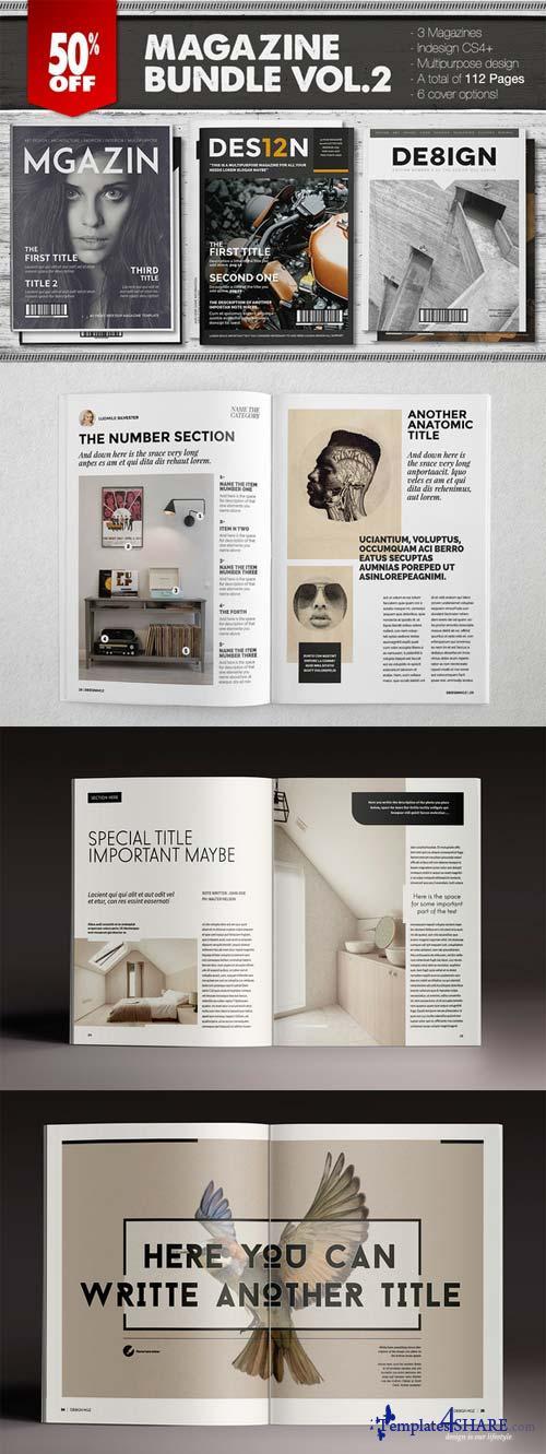 CreativeMarket Magazine Bundle 2