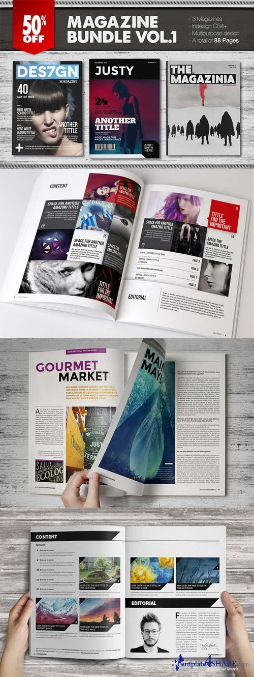 CreativeMarket Magazine Bundle 1