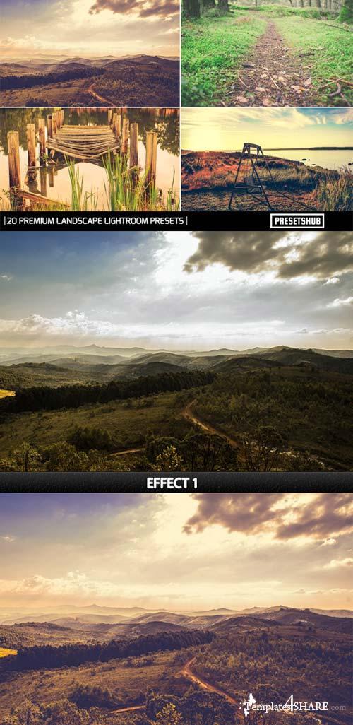GraphicRiver 20 Premium Landscape Effect V-1 Lightroom Presets