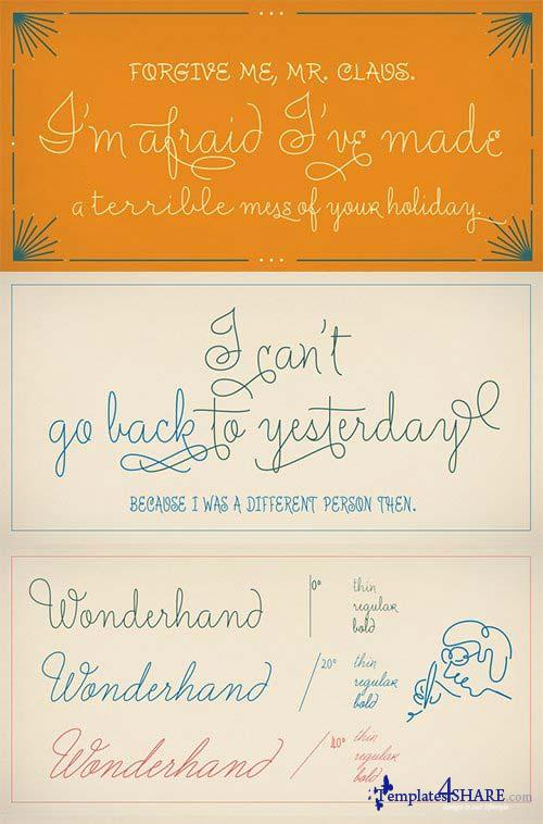 Wonderhand Font Family