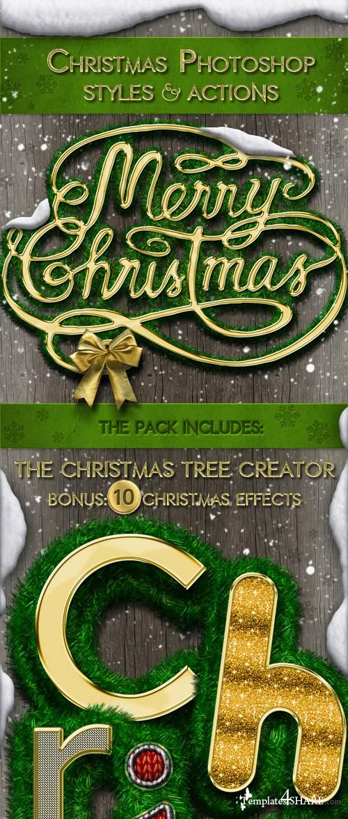 GraphicRiver Christmas Styles Photoshop Creation Kit