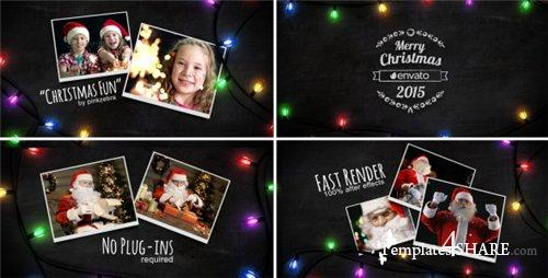 Christmas Light Slideshow - After Effects Project (Videohive)