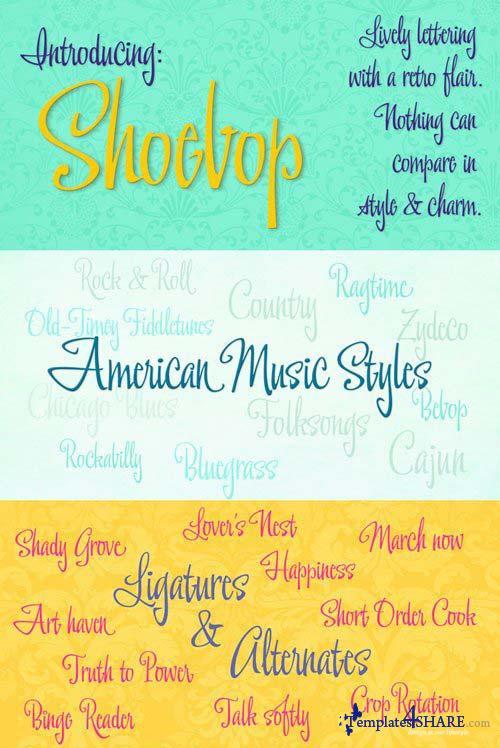 Shoebop Font Family