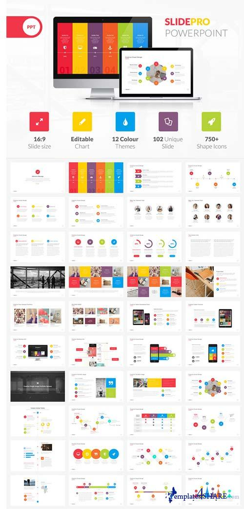 CreativeMarket SlidePro Powerpoint Presentation
