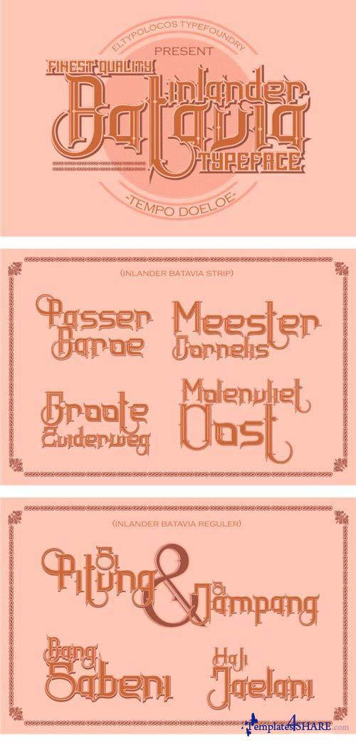 Inlander Batavia Font