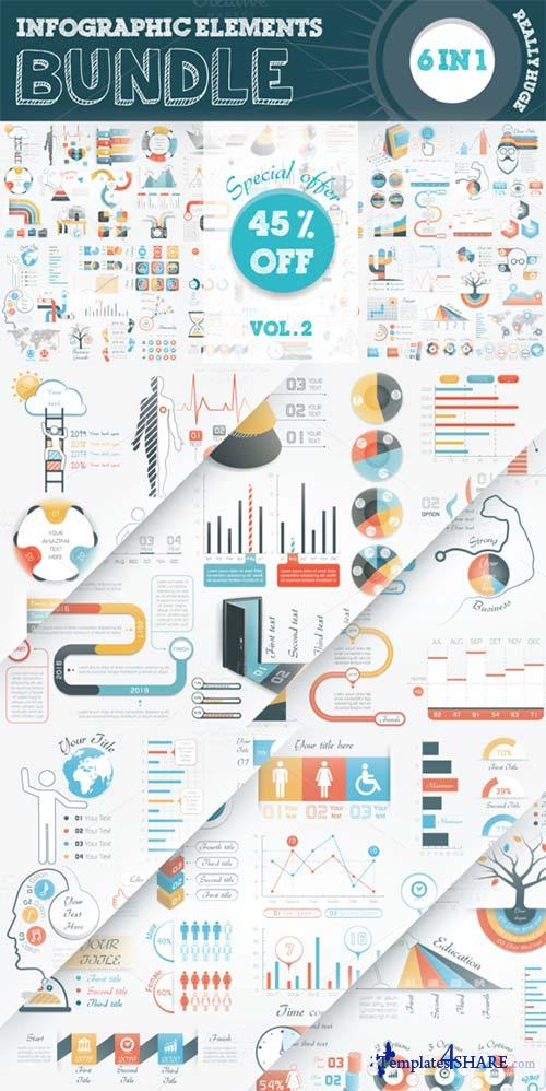 CreativeMarket Infographic Elements Bundle