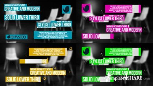 Solid Lower Third - After Effects Project (Videohive)