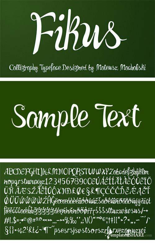Fikus Font