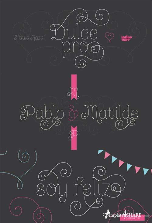 Dulce Pro Font Family