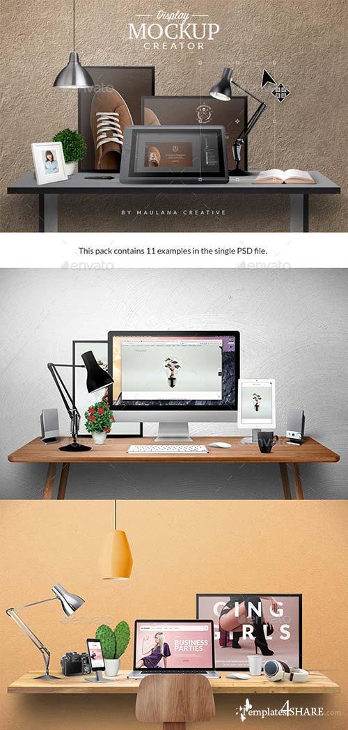 GraphicRiver Display Mockup Creator