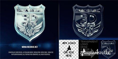 3D Metallic Logo - After Effects Project (Videohive)