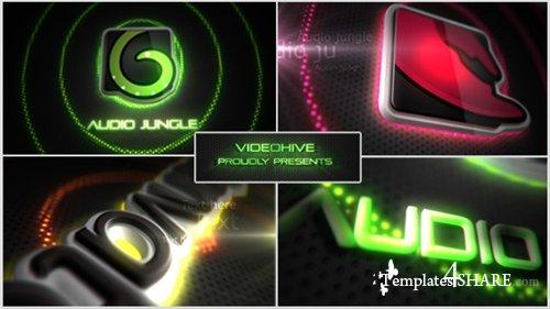Neon/Vegas Lights Logo Reveal - After Effects Project (Videohive)