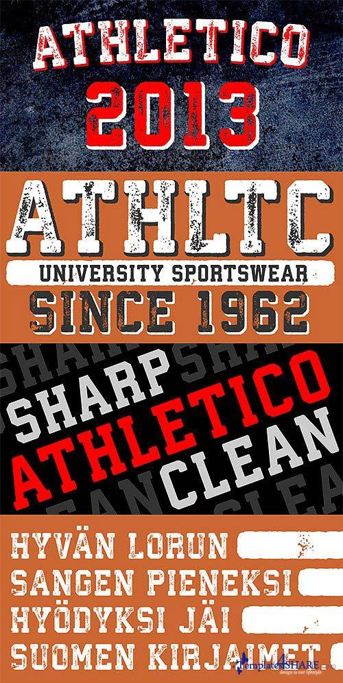Athletico & Athletico Clean Font Family