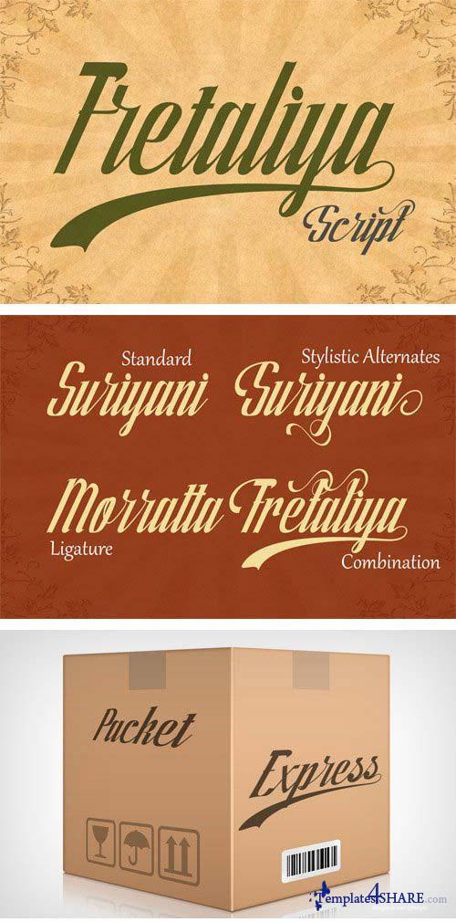 Fretaliya Font
