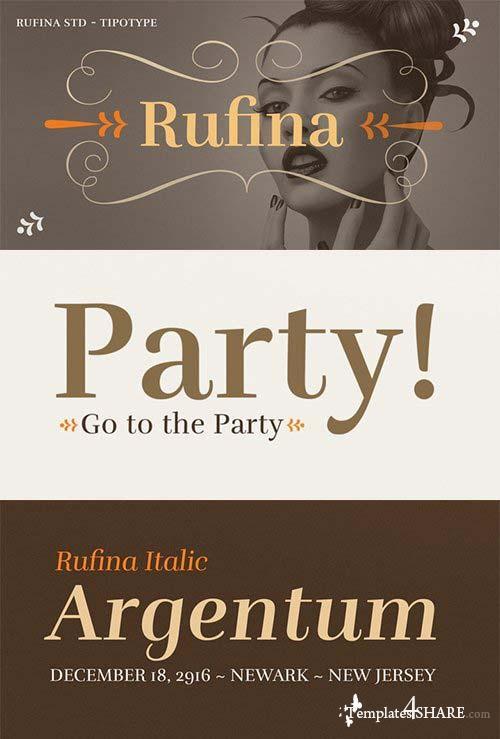 Rufina STD Font Family