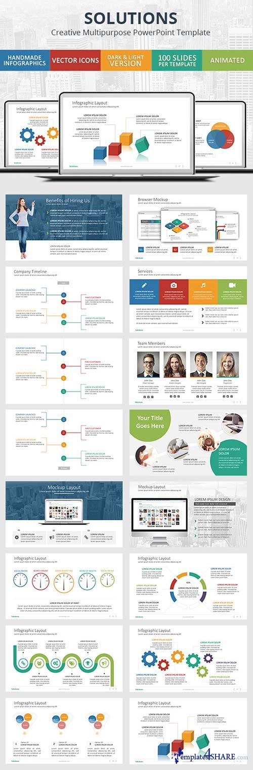 GraphicRiver Solutions - PowerPoint Presentation Template