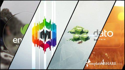 Minimal Glass Logo Reveal - After Effects Project (Videohive)