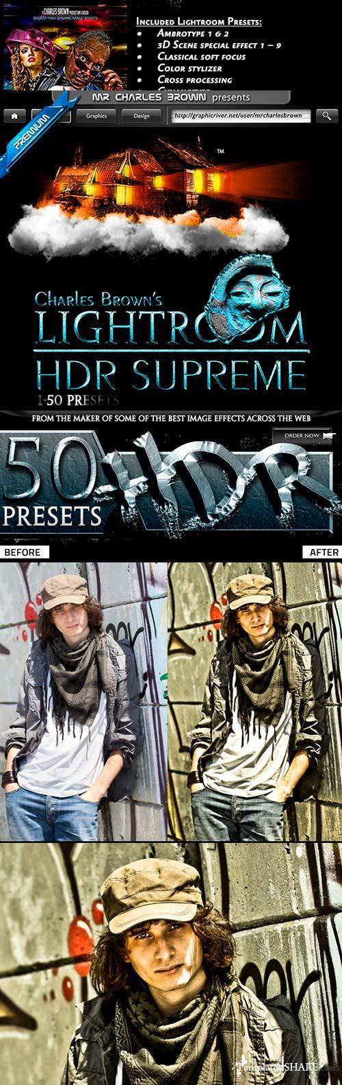 GraphicRiver Lightroom HDR Supreme 1-50 Presets