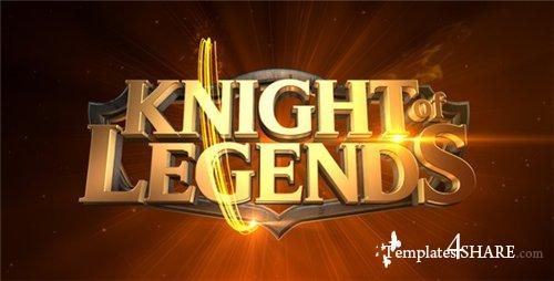 Legends Cinematic Logo Reveal - After Effects Project (Videohive)
