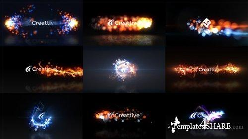 Quick Logo Sting Pack 07: Energetic Particles - After Effects Project (Videohive)