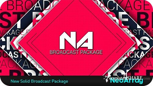 New Solid Broadcast Package - After Effects Project (Videohive)