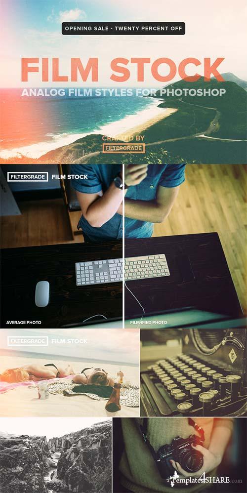 CreativeMarket FilmStock - Analog Photoshop Actions