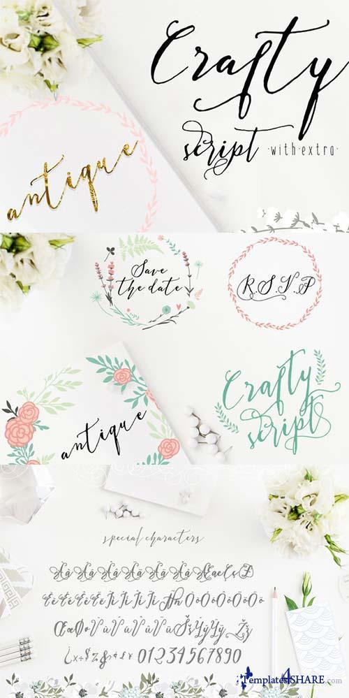 Crafty Script Font