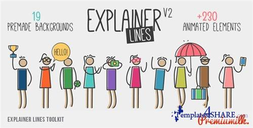 Explainer Lines Toolkit - After Effects Project (Videohive)