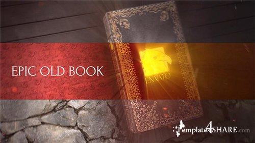 Epic Old Book - After Effects Project (Videohive)