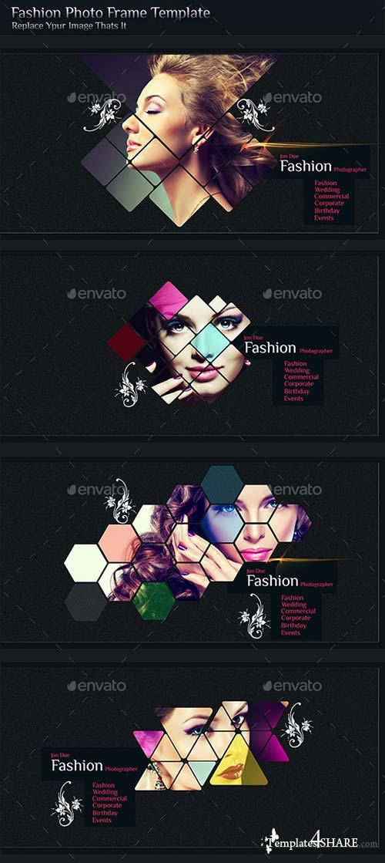 GraphicRiver Fashion Photo Frame Template